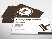 Auction Business Card