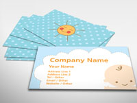 Baby Sitting Business Cards
