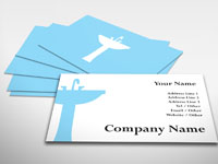 Blue Sink Business Card