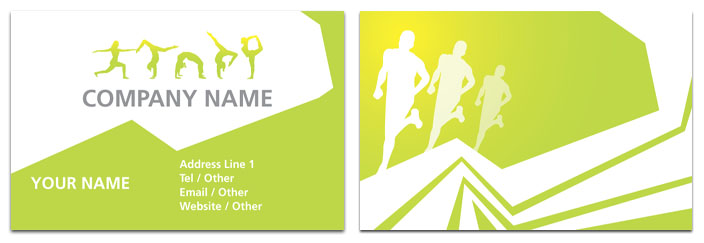 Fitness instructor business card health fitness rocket cards fitness instructor business card colourmoves