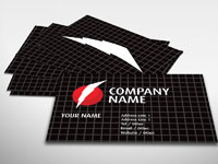 Flash Business Card