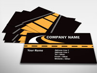 Haulage Business Card
