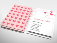 Dating business card generic rocket cards heart business card colourmoves