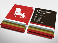 Interior Furniture Business Card