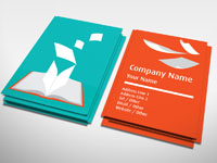 Education Business Card | Publishing | Rocket Cards