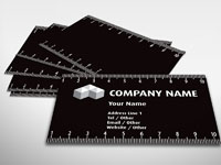 Wood shavings business card building construction rocket cards ruler business card colourmoves