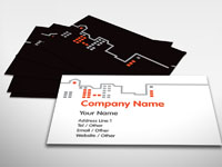 Skyline Business Card