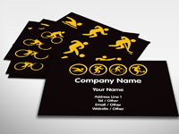 Sporting Icon Business Card