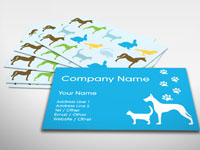 Business cards rocket cards veterinary business card colourmoves